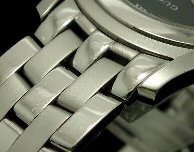 【新品未使用品】【ウォッチ】GUCCIグッチブラック文字盤デイトメンズQZクォーツ腕時計5500MYA055302【中古】【k】【Blumin楽天市場店】