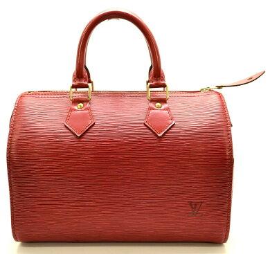 【バッグ】LOUISVUITTONルイヴィトンエピスピーディ25ハンドバッグボストンバッグレザーカスティリアンレッド赤M43017【中古】【u】【Blumin楽天市場店】