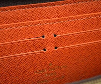 【財布】LOUISVUITTONルイヴィトンモノグラムポルトフォイユクレマンスラウンドファスナー長財布ピモンオレンジM60743【中古】【k】【Blumin楽天市場店】