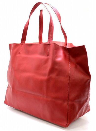 【バッグ】CELINEセリーヌホリゾンタルカバトートバッグショルダートートレザー赤レッド【中古】【k】【Blumin楽天市場店】