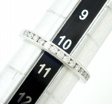 【ジュエリー】【新品仕上げ済】TIFFANY&Co.ティファニーダイヤモンドウェディングバンドリング指輪10号#10Pt950プラチナダイヤモンドD0.24ct2.5mm【中古】【k】【Blumin楽天市場店】