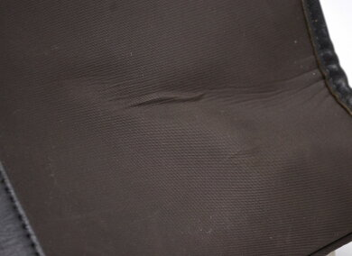BURBERRYバーバリーブラックレーベルビジネスバッグ書類カバンブリーフケースナイロンレザー茶ダークブラウンチェック【中古】【k】【Blumin楽天市場店】