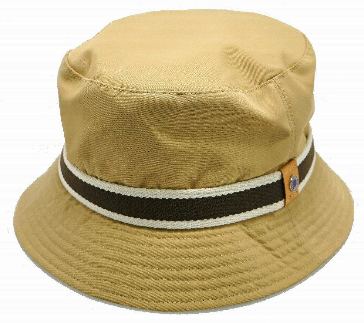 【アパレル】COACH コーチ シグネチャー バケットハット 帽子 ハット ポリエステル ナイロン キャンバス ベージュ ブラウン ホワイト 【中古】【k】【Blumin/森田質店】【質屋出店】