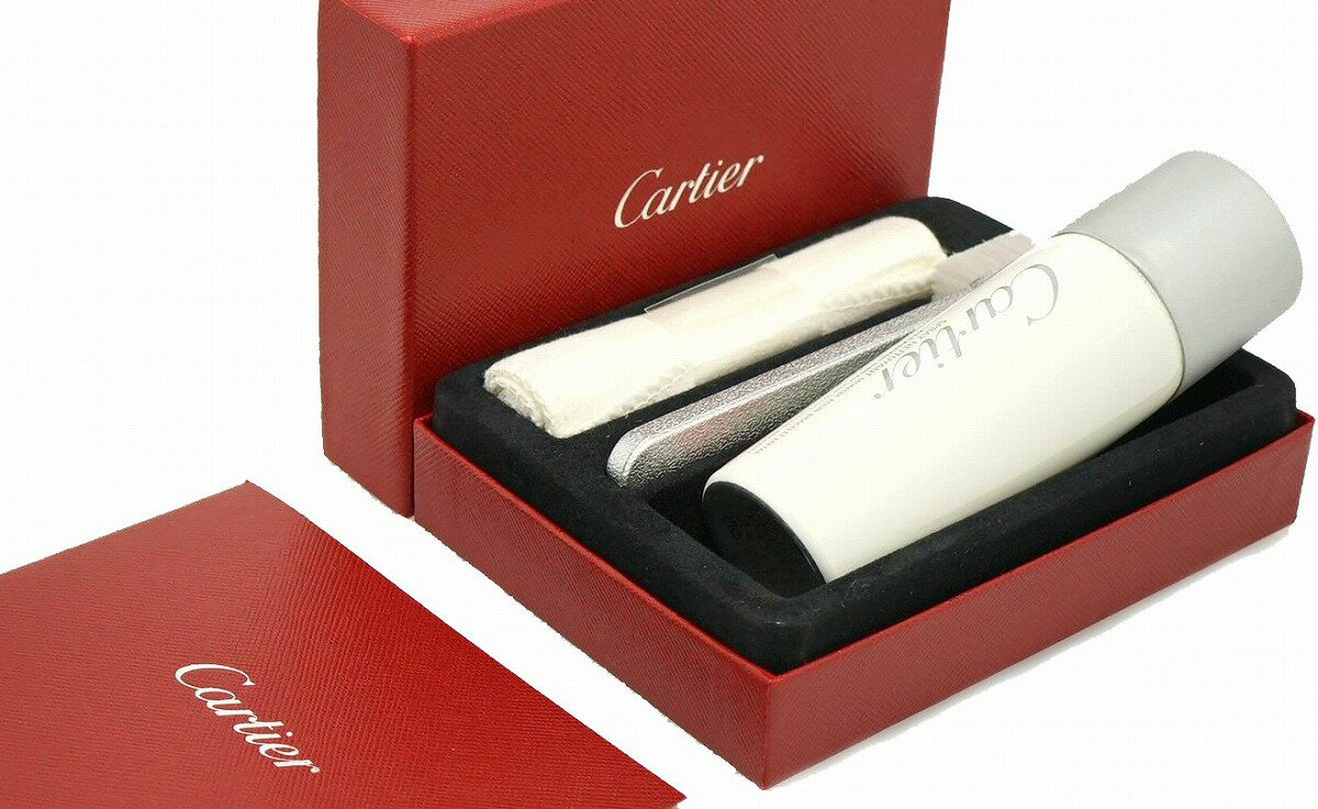 【未使用品】Cartier カルティエ メタル ブレスレット用 お手入れキット クリーナー クリーニングスプレー 容量50ml【中古】【k】【Blumin/森田質店】【質屋出店】