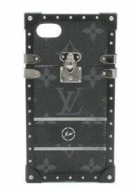LOUIS VUITTON ルイ ヴィトン モノグラム エクリプス フラグメント アイトランク iphone7 ケース アイフォンケース スマホケース ブラック メタル M62613 【中古】【Blumin/森田質店】【質屋出品】【s】