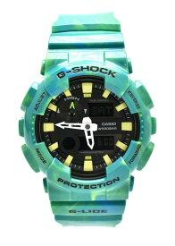 【未使用品】【ウォッチ】CASIO カシオ G-SHOCK ガリッシュ メンズ クォーツ 腕時計 グリーン 緑 GAX-100MB 【中古】【Blumin/森田質店】【質屋出品】【k】