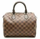 【バッグ】LOUIS VUITTON ルイ ヴィトン ダミエ スピーディ25 ハンドバッグ ミニボストンバッグ 新型 N41365 【中古】…