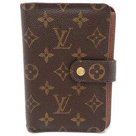 【財布】LOUIS VUITTON ルイ ヴィトン モノグラム ポルトパピエ ジップ 2つ折 財布 証明書ケースなし M61207 【中古】