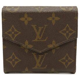 【財布】LOUIS VUITTON ルイ ヴィトン モノグラム ダブルホック財布 Wホック財布 廃盤 M61660 【中古】