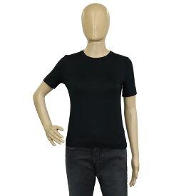 【アパレル】HERMES エルメス Tシャツ カットソー トップス レディース シルク93% ライクラ7% ネイビー 紺 #34 【中古】