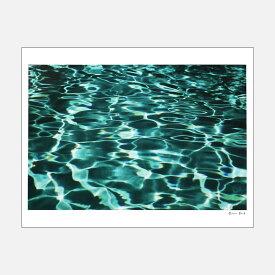 """Alicia Bock Photography / Refresh 330×254mm【8""""×12""""/アリシアボックフォトグラフィ/ポスター/写真/アート/フォトグラファー/光/水面/リフレッシュ】[113574"""