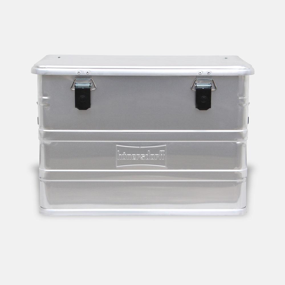 【メーカー直送】Hunersdorff / Aluminium Profi Box 76L【アルミニウムプロフィーボックス/アルミコンテナ/ヒューナースドルフ/アウトドア/キャンプ】[113480