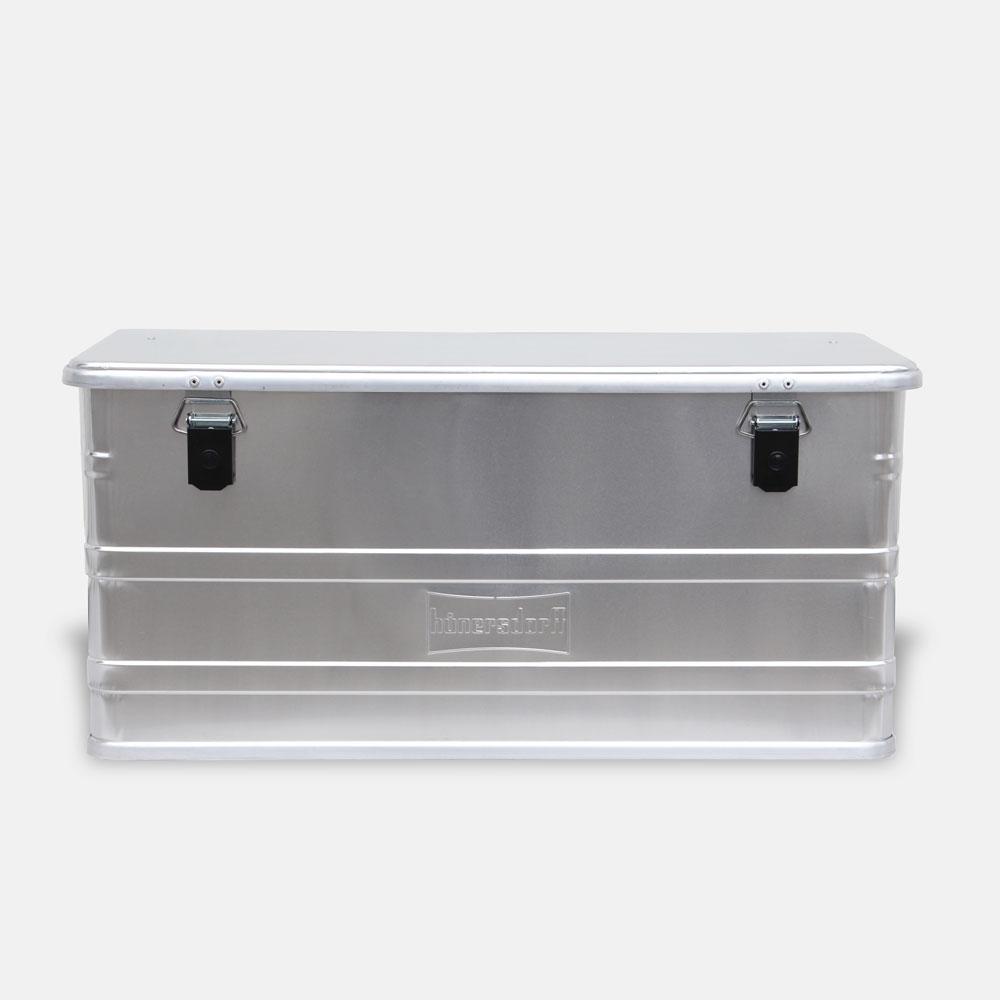 【メーカー直送】Hunersdorff / Aluminium Profi Box 91L【アルミニウムプロフィーボックス/アルミコンテナ/ヒューナースドルフ/アウトドア/キャンプ】[113481