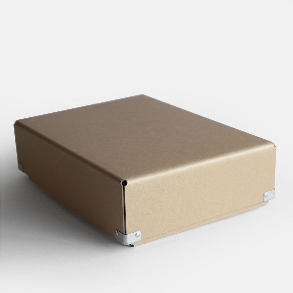 【あす楽対応】concrete craft / BENT A4(Kraft)【コンクリートクラフト/ベント/クラフトワン/craft_one/小物いれ/収納ボックス/クラフト】[113184