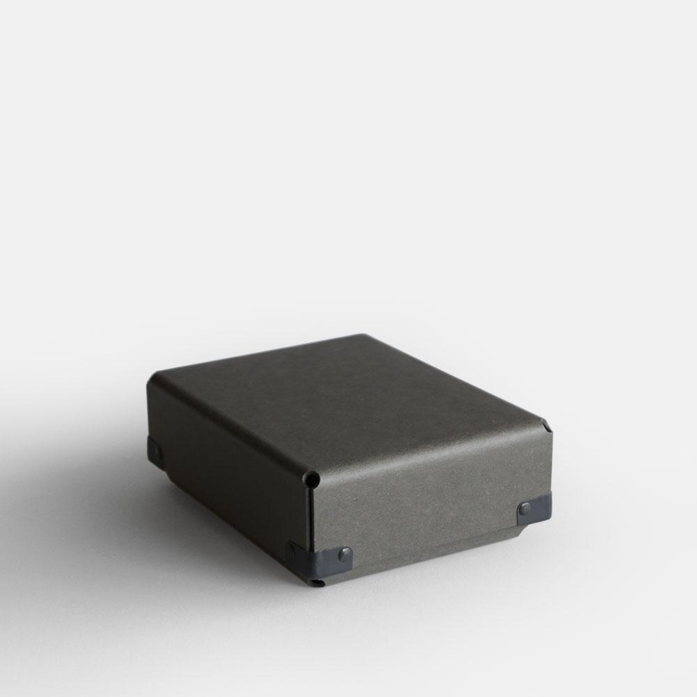 【あす楽対応】concrete craft / BENT A6(Charcoal)【コンクリートクラフト/ベント/クラフトワン/craft_one/小物いれ/収納ボックス/チャコール】[113179