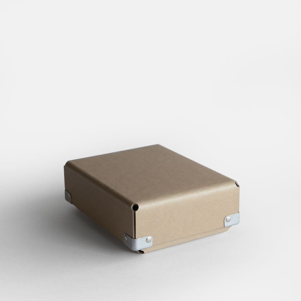 【あす楽対応】concrete craft / BENT A6(Kraft)【コンクリートクラフト/ベント/クラフトワン/craft_one/小物いれ/収納ボックス/クラフト】[113180