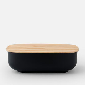 SEKISAKA / STORE Large Oval (Black) / ST-04BK【ストアー/セキサカ/関坂漆器/Standard Edition/保存容器/Industrial Facility】[113507