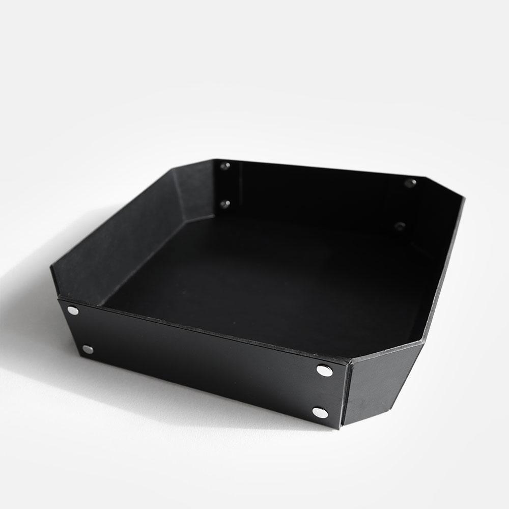 【あす楽対応】concrete craft / 8_TRAY M(Black)【コンクリートクラフト/8トレイ/クラフトワン/craft_one/小物いれ】[113634