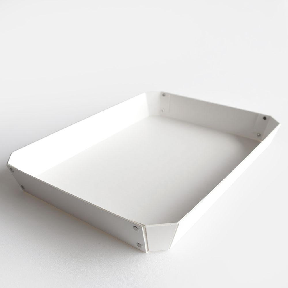 【あす楽対応】concrete craft / 8_TRAY L(White)【コンクリートクラフト/8トレイ/クラフトワン/craft_one/小物いれ】[113637