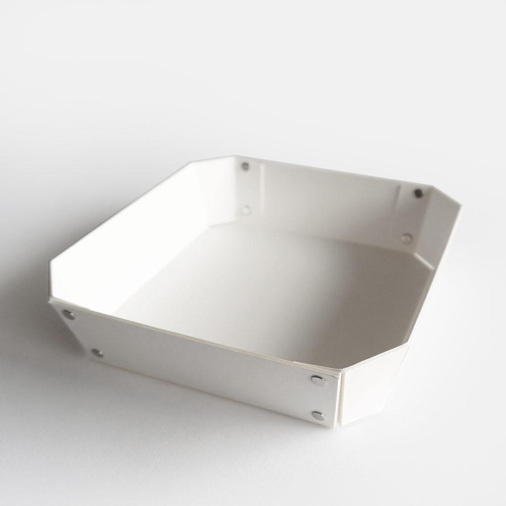 【あす楽対応】concrete craft / 8_TRAY M(White)【コンクリートクラフト/8トレイ/クラフトワン/craft_one/小物いれ】[113631