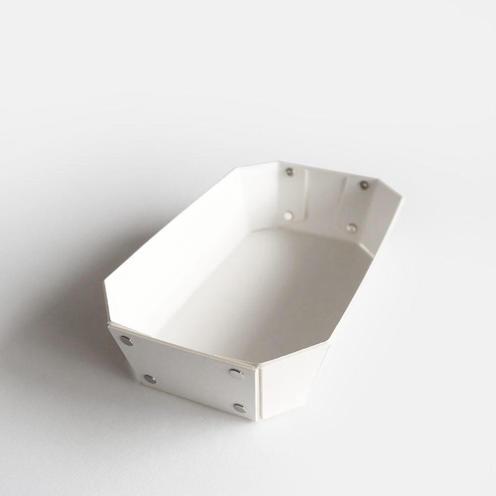 【あす楽対応】concrete craft / 8_TRAY S(White)【コンクリートクラフト/8トレイ/クラフトワン/craft_one/小物いれ】[113625