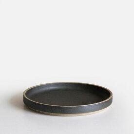 【あす楽対応】HASAMI PORCELAIN[ハサミポーセリン] / Plate φ18.5cm(Black)/HPB003【プレート/皿/ブラック/波佐見焼】[111141