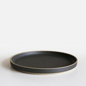 【あす楽対応】HASAMI PORCELAIN[ハサミポーセリン] / Plate φ22cm(Black)/HPB004【プレート/皿/ブラック/波佐見焼】[111142