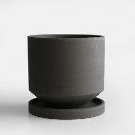 BULBOUS.[バルバス] / STRAIGHT L(Black)【プランター/植木鉢/フラワーポット/moton/ONS/オンズ】[114994