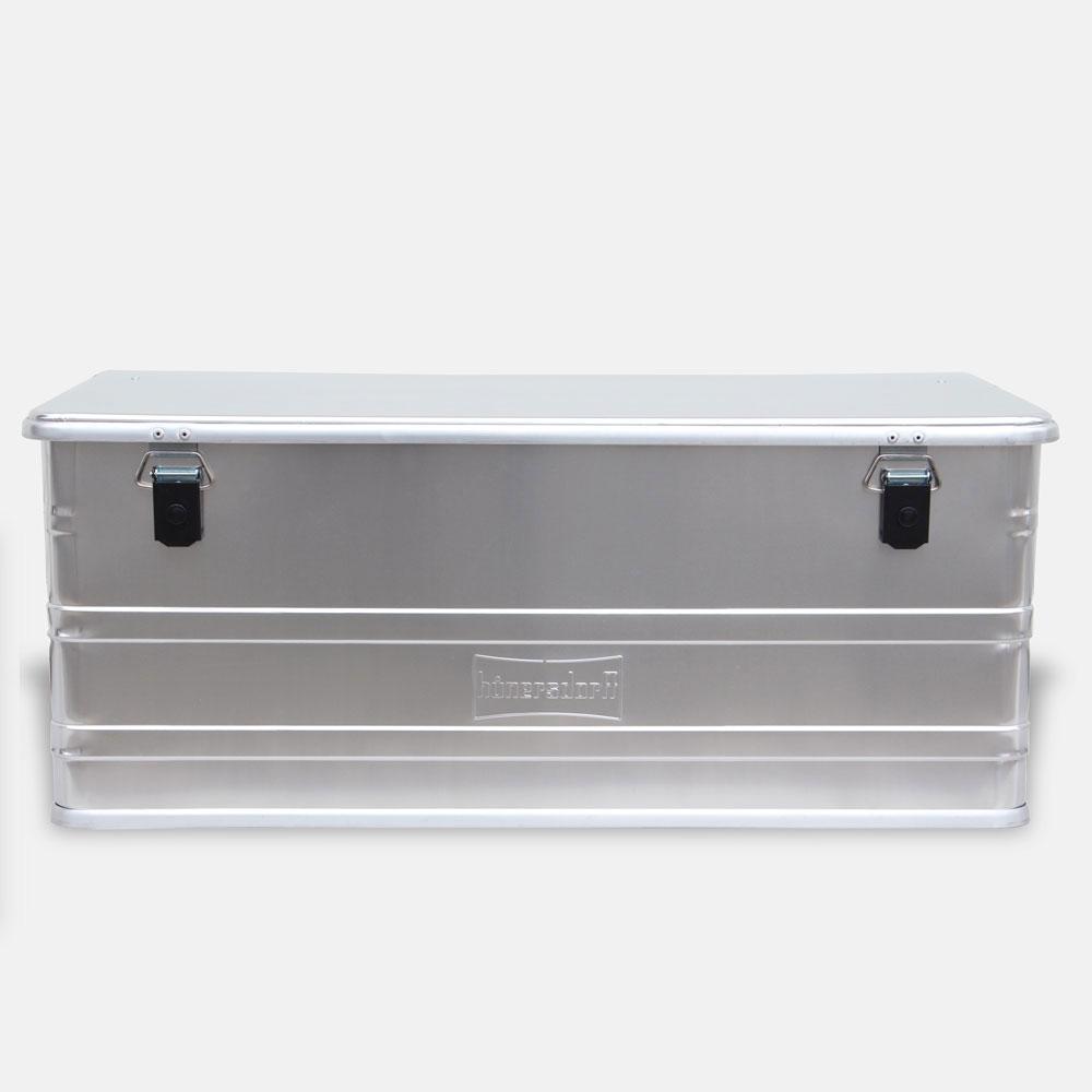【メーカー直送】Hunersdorff / Aluminium Profi Box 140L【アルミニウムプロフィーボックス/アルミコンテナ/ヒューナースドルフ/アウトドア/キャンプ】[113482