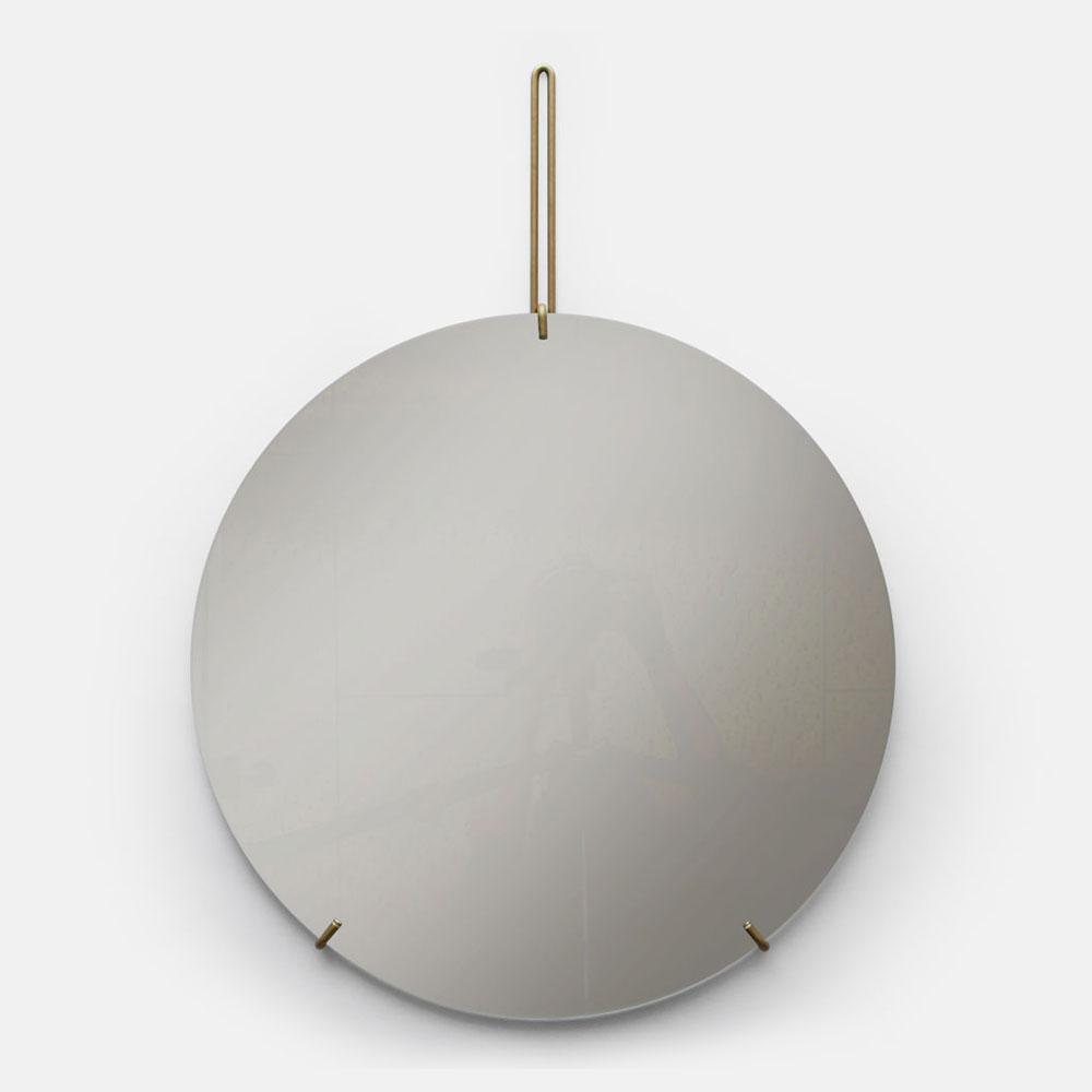 MOEBE / WALL MIRROR 50cm(Brass)【ウォールミラー/鏡/デンマーク/インテリア/ブラス/真鍮】[113380