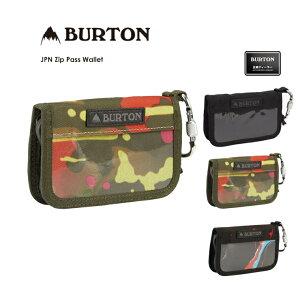 20-21 BURTON バートン JPN Zip Pass Wallet ジャパン ジップ パスケース 全3色 小銭入れ カラビナ メンズ レディース キッズ【ぼーだまん】