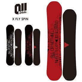 早期予約 011ARTISTIC ゼロワンワン X FLY SPIN エックスフライスピン 21-22 2022 スノーボード 板【ぼーだまん】