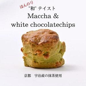 スコーン 抹茶ホワイトチョコ 2個入り お取り寄せ 冷凍発送 おすすめ 人気 美味しい 焼き菓子 抹茶 ホワイトチョコ