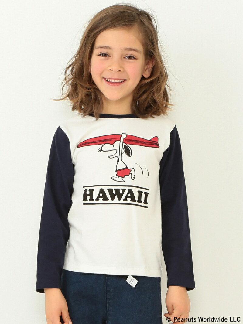 [Rakuten BRAND AVENUE]Peanuts|ビーミング by ビームス / ハワイ 7分袖 Tシャツ18SS BEAMS B:MING by BEAMS ビーミング ライフストア バイ ビームス カットソー