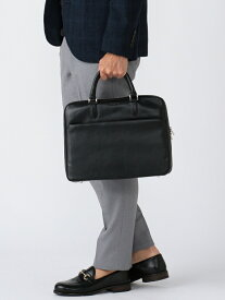 [Rakuten Fashion]B:MING by BEAMS / レザーブリーフケース BEAMS ビームス B:MING by BEAMS ビーミング ライフストア バイ ビームス バッグ ビジネスバッグ ブラック ブラウン【送料無料】