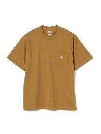 [Rakuten Fashion]DANTON / ポケット Tシャツ B:MING LIFE STORE by BEAMS ビーミング ライフストア バイ ビームス カットソー Tシャツ ブラウン ホワイト レッド イエロー【送料無料】
