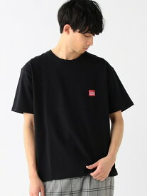 [Rakuten Fashion]Manhattan Portage / ロゴ プリントTシャツ  BEAMS ビームス マンハッタンポーテージ B:MING by BEAMS ビーミング ライフストア バイ ビームス カットソー Tシャツ ブラック ホワイト【送料無料】