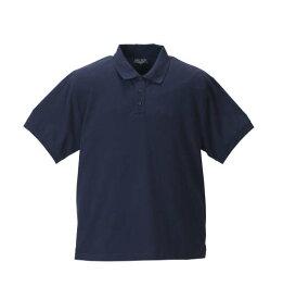 大きいサイズ メンズ Mc.S.P 消臭テープ付鹿の子半袖ポロシャツ ネイビー 1158-8561-3 [3L・4L・5L・6L・8L・10L]