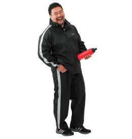 大きいサイズ メンズ TSA サウナスーツ ブラック 1176-5381-1 [3L・4L・5L・6L・8L]