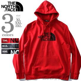 【大きいサイズ】【メンズ】THE NORTH FACE(ザ・ノース・フェイス) ロゴプリントプルパーカー【USA直輸入】nf0a3fr1