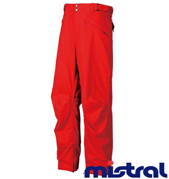 【送料無料】【大きいサイズ】【メンズ】 mistral スノボーパンツ レッド 1156-3302-4 [3L・5L・7L]