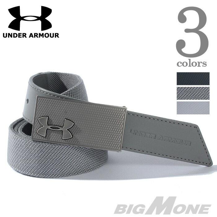 【大きいサイズ】【メンズ】UNDER ARMOUR(アンダーアーマー) ロゴデザインベルト【USA直輸入】ua9114