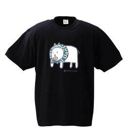 大きいサイズ メンズ わもっちー からくさ半袖Tシャツ ブラック 1178-6561-1 [3L・4L・5L・6L]