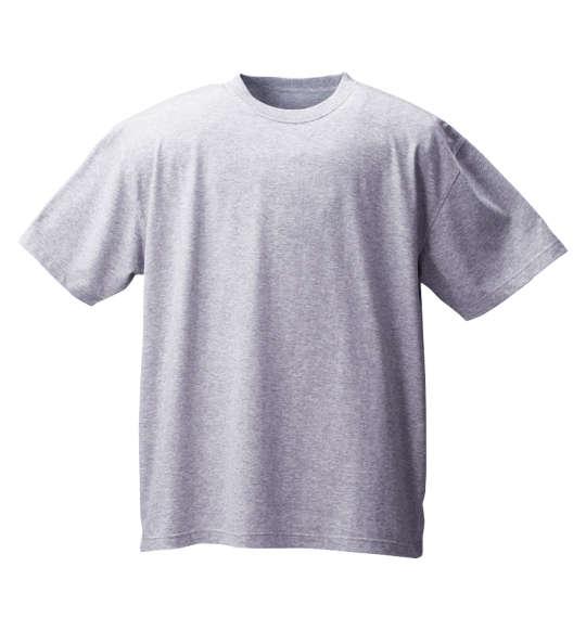【送料無料】【大きいサイズ】【メンズ】 Mc.S.P 半袖クルーTシャツ モクグレー 1158-6590-4 [3L・4L・5L・6L・8L・10L]