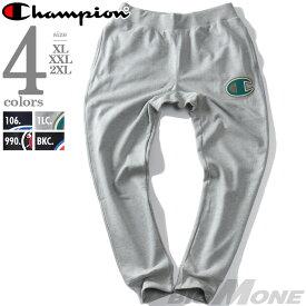 【大きいサイズ】【メンズ】Champion(チャンピオン) ビッグロゴスウェットパンツ【USA直輸入】gf01-c