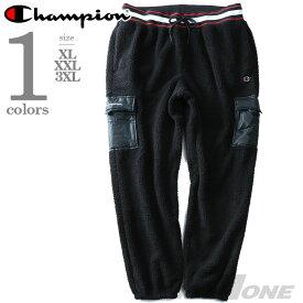 【大きいサイズ】【メンズ】Champion(チャンピオン) ユーティリティボアパンツ【USA直輸入】p3376