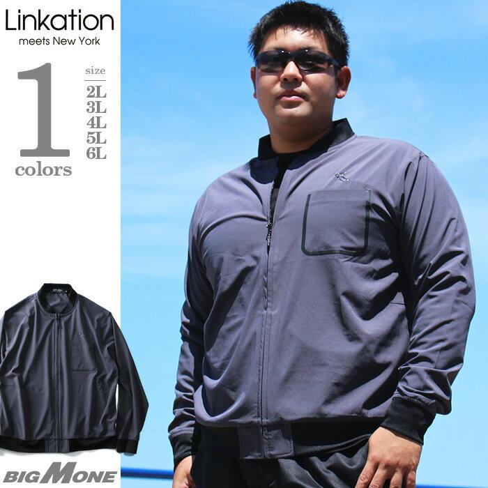 【大きいサイズ】【メンズ】LINKATION ストレッチカットジャケット la-cj180404