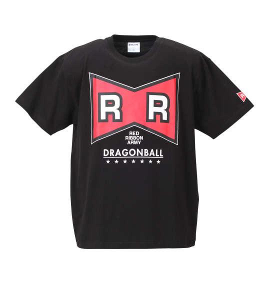 【大きいサイズ】【メンズ】 DRAGONBALL レッドリボン軍半袖Tシャツ ブラック 1178-8562-1 [3L・4L・5L・6L・8L]