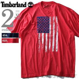 【大きいサイズ】【メンズ】TIMBERLAND(ティンバーランド) プリント半袖Tシャツ【USA直輸入】tb0a3k51