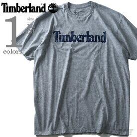 【大きいサイズ】【メンズ】TIMBERLAND(ティンバーランド) ロゴプリント半袖Tシャツ【USA直輸入】tb0a11gy